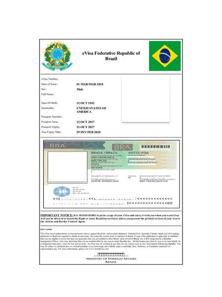 Brazil Visa | Brazil Tourist Visa Online