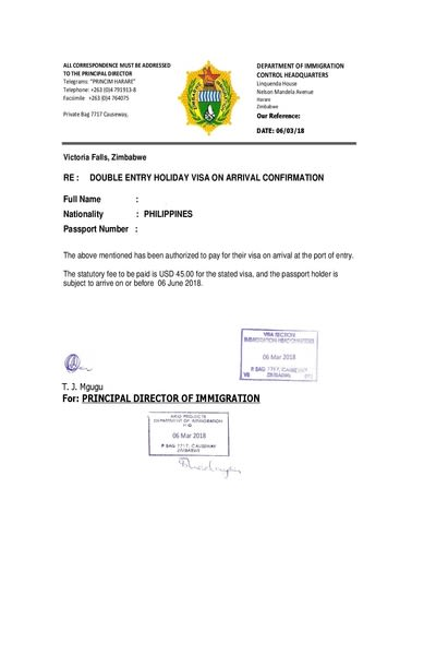 Zimbabwe Visa Online Zimbabwe E Visa