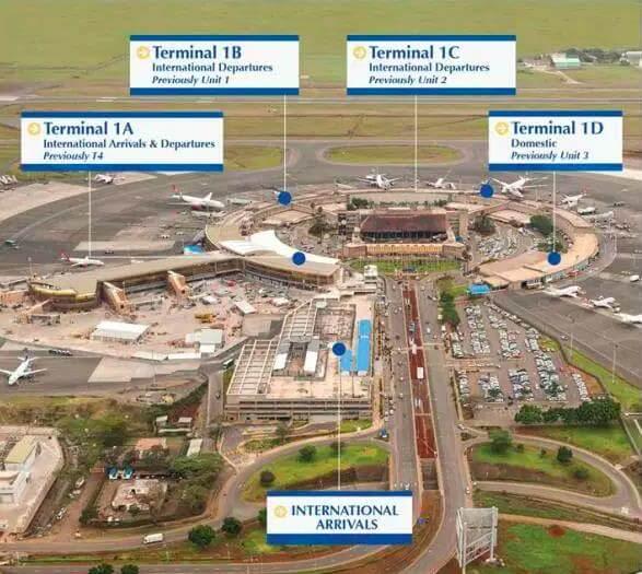 Aeroporto Nairobi : Save time when landing kenya international airport visa